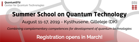 Summer School on Quantum Technology 2019