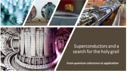 Fysikaften d. 22. oktober - Superconductors and a search for the holy grail